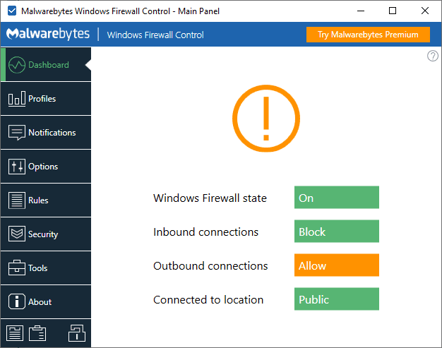 malwarebytes windows firewall control